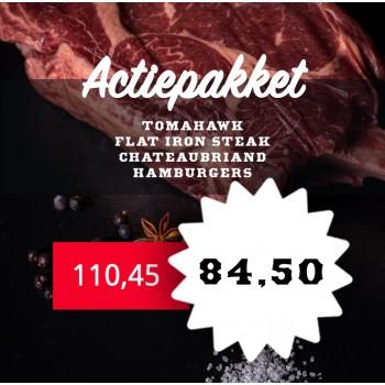 Actiepakket - Barbecue steaks
