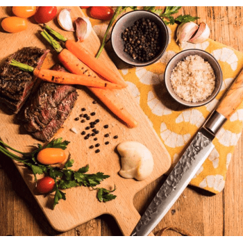 Tournedos met gegrilde wortel en pastinaakpuree
