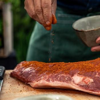 Picanha (staartstuk) op de barbecue: heerlijk mals!